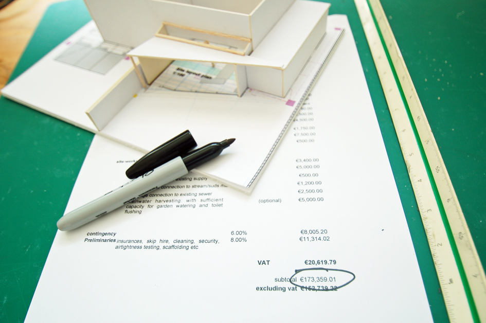 hire an architect - get a feasibility study