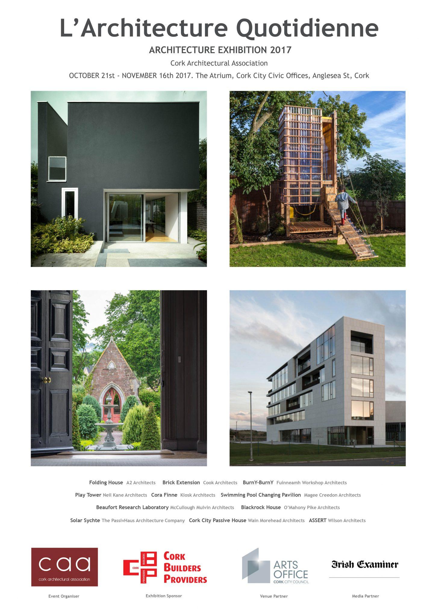 cork architectural association 2017 invitation