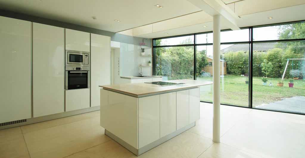 Architect Designed modern Kitchen Cork